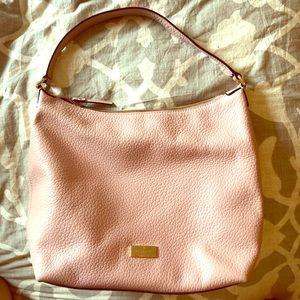 Pink Kate Spade over-shoulder purse